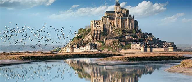 Mont Saint Michel - hòn đảo lâu đài của những giấc mơ - 2