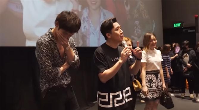 Trấn Thành tiết lộ bị Tuấn Trần làm thiệt hại nửa tỷ đồng khi quay phim 'Bố Già' ảnh 1