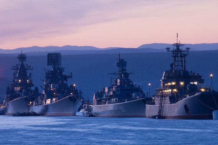 Hạm đội Biển Đen của Nga.