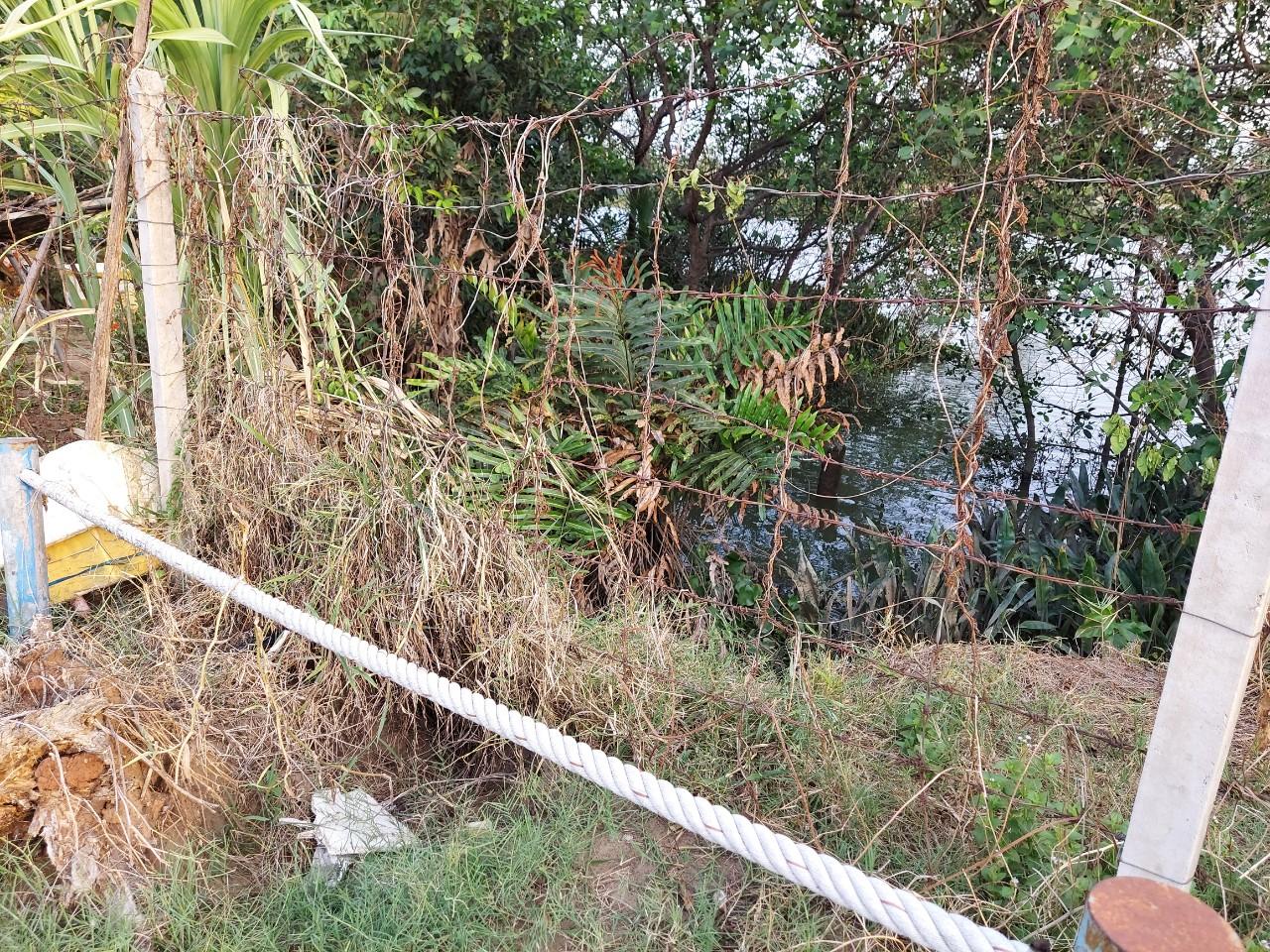 2.Nước thải sinh hoạt Khu dân cư Melosa Garden được xả trực tiếp ra sông không qua xử lý?