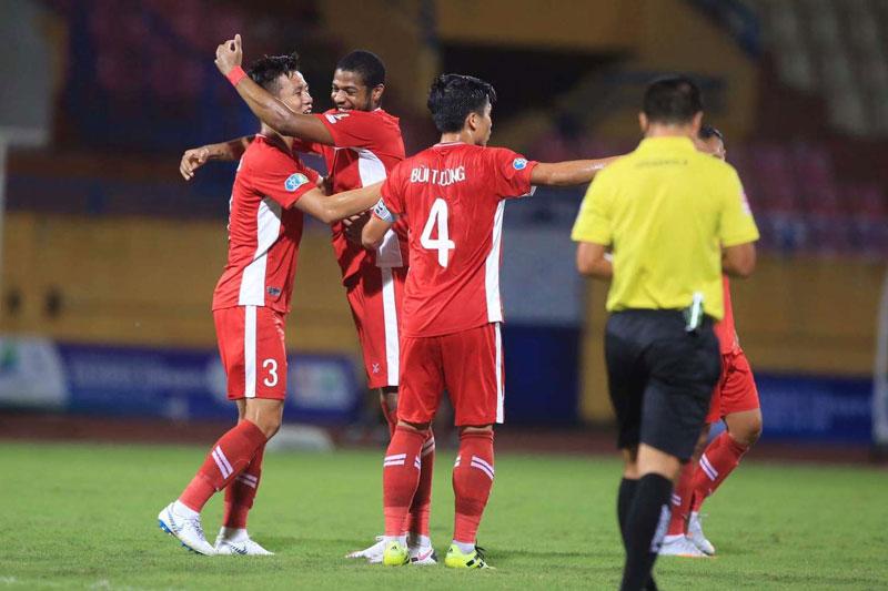 Viettel vừa giành chiến thắng trước CLB Hà Nội.
