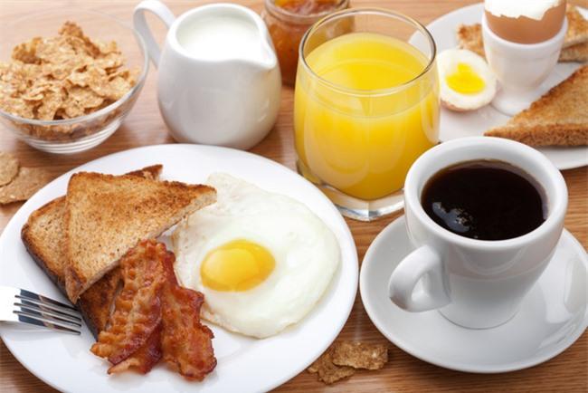 Bữa sáng đủ chất dinh dưỡng tốt cho sức khỏe