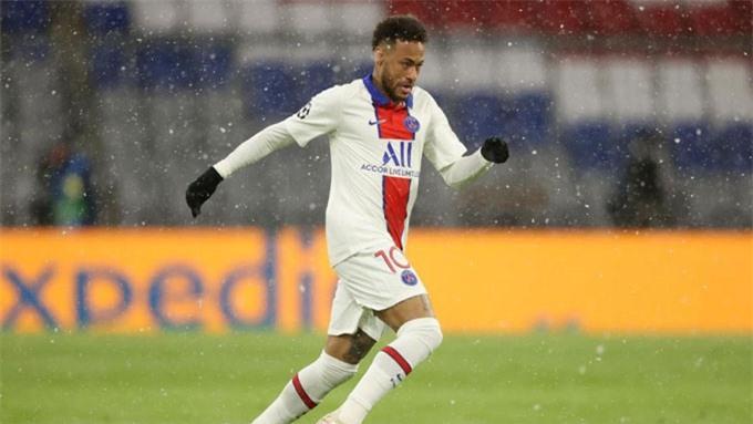 Neymar có 2 đường kiến tạo trước PSG