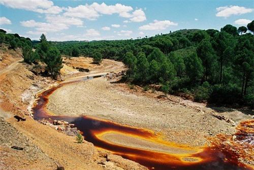 Lạ lùng dòng sông đỏ như máu ở Tây Ban Nha ảnh 5