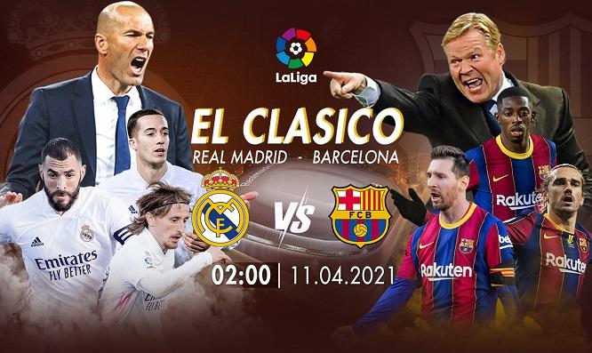 Năm nay, lịch sử giữa hai đội Barca và Real Madrid liệu có lặp lại?
