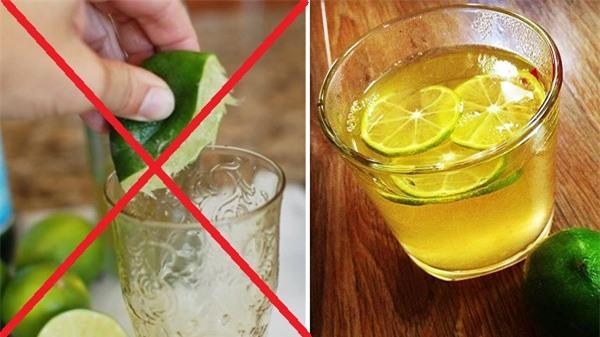 Không uống nước chanh giải rượu