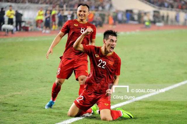 Đội tuyển Việt Nam đứng thứ 92.