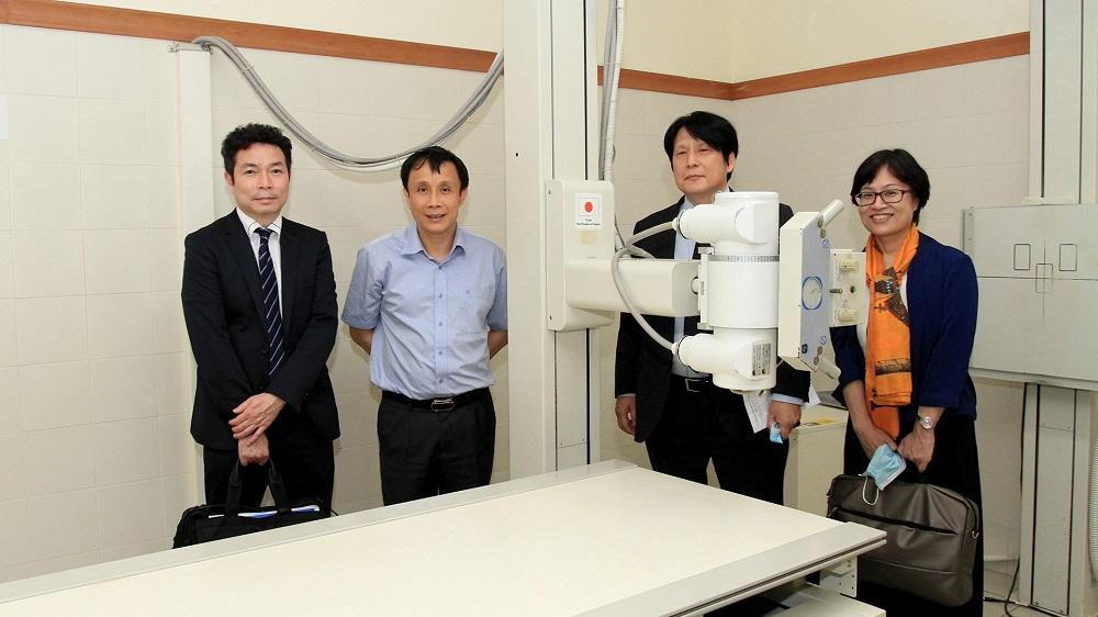 Lãnh đạo Bệnh viện Trung ương Huế cam kết sẽ sử dụng hiệu quả tất cả những máy móc được trao tặng này để nâng cao chất lượng chăm sóc sức khỏe cho người bệnh.