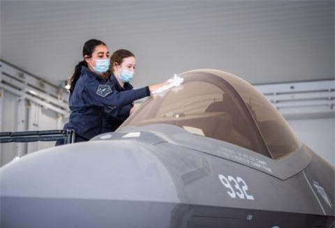Israel tiet lo uu diem dung choi lau nha ve sinh F-35I