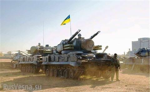 Ukraine dieu dong hang loat to hop Tunguska toi sat Donbass