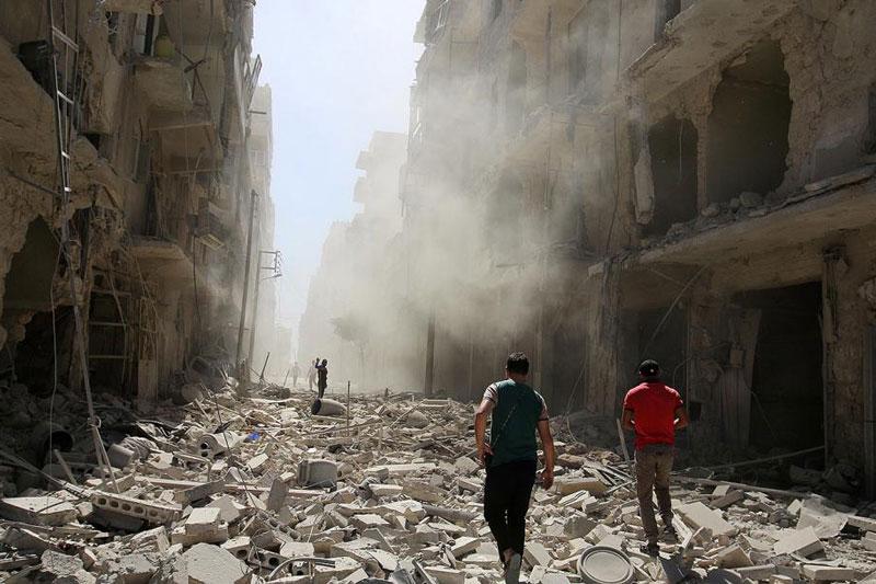 Không quân Nga ném bom vào các vị trí của lính đánh thuê Thổ Nhĩ Kỳ ở Syria trên quy mô lớn