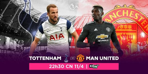 Tottenham vs. Manchester United: Trấn đấu tâm điểm vòng 31 Ngoại hạng Anh