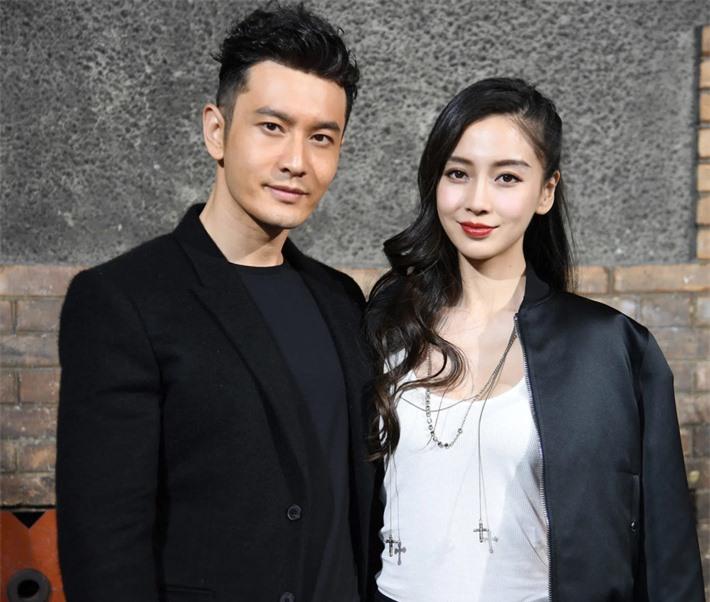 Từ một người mẫu ít tên tuổi, Huỳnh Hiểu Minh đã đưa Angelababy thành sao hạng A của Cbiz.