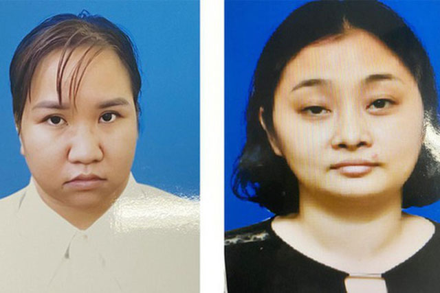 Hai bị can trong đường dây mang thai hộ Nguyễn Anh Thư và Phạm Ngọc Thảo. Ảnh: CACC.