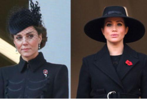 Động thái khác biệt của vợ chồng Công nương Kate và nhà Meghan Markle sau khi Hoàng tế Philip qua đời