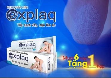 Explaq - Giải pháp hàng đầu từ thiên nhiên giúp cải thiện vảy nến an toàn, hiệu quả