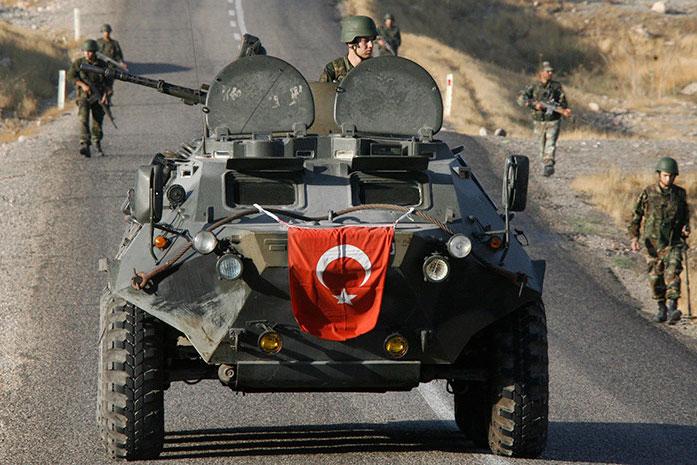 Quân đội Thổ Nhĩ Kỳ.