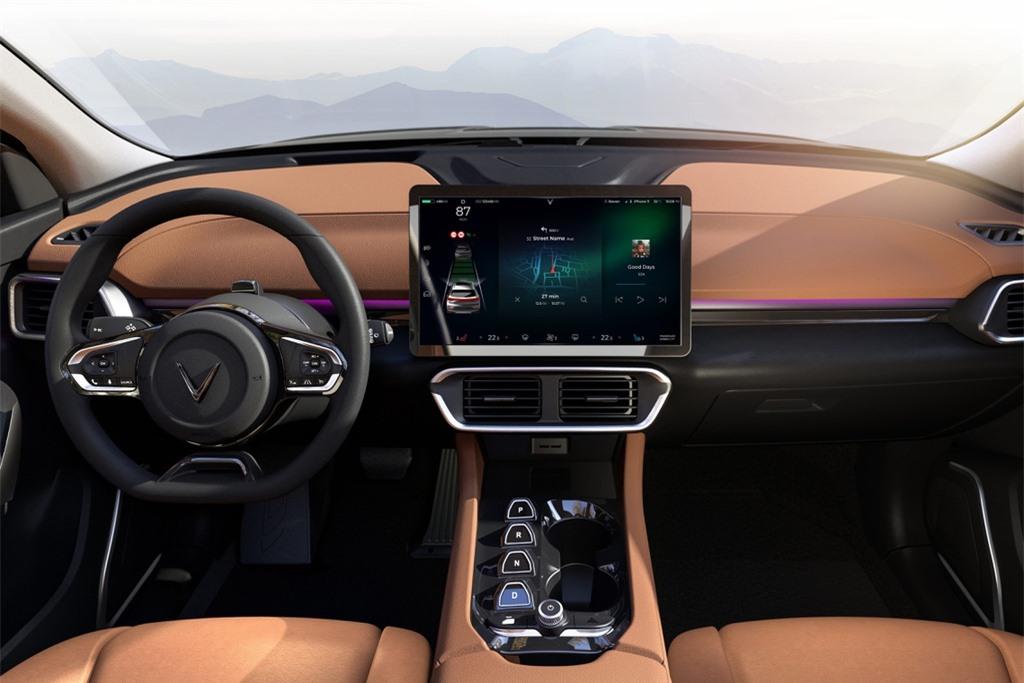 VinFast VF e35 se canh tranh voi mau xe nao cua Tesla? anh 8
