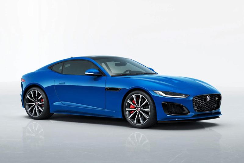 Jaguar F-Type 2021.