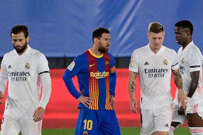 Messi lập kỷ lục buồn ở trận Siêu kinh điển