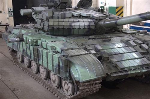 Ukraine đưa tăng T-64 trang bị APS vào chiến tuyến Donbass