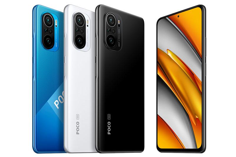 Xiaomi Poco F3 5G.