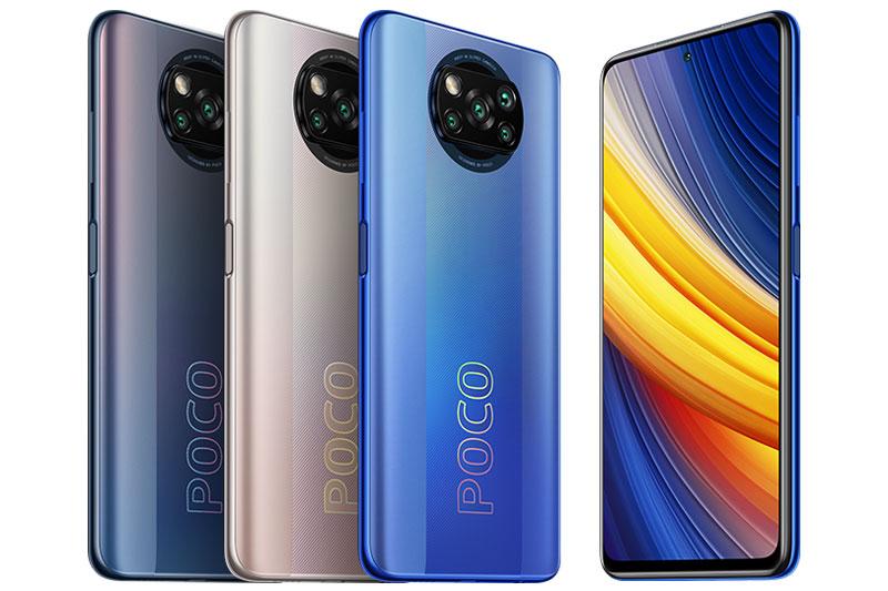 Xiaomi Poco X3 Pro.