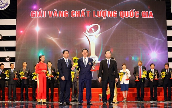 19 doanh nghiệp được tặng Giải Vàng  Chất lượng Quốc gia năm 2020 vào ngày 25/4/2021 tới đây.