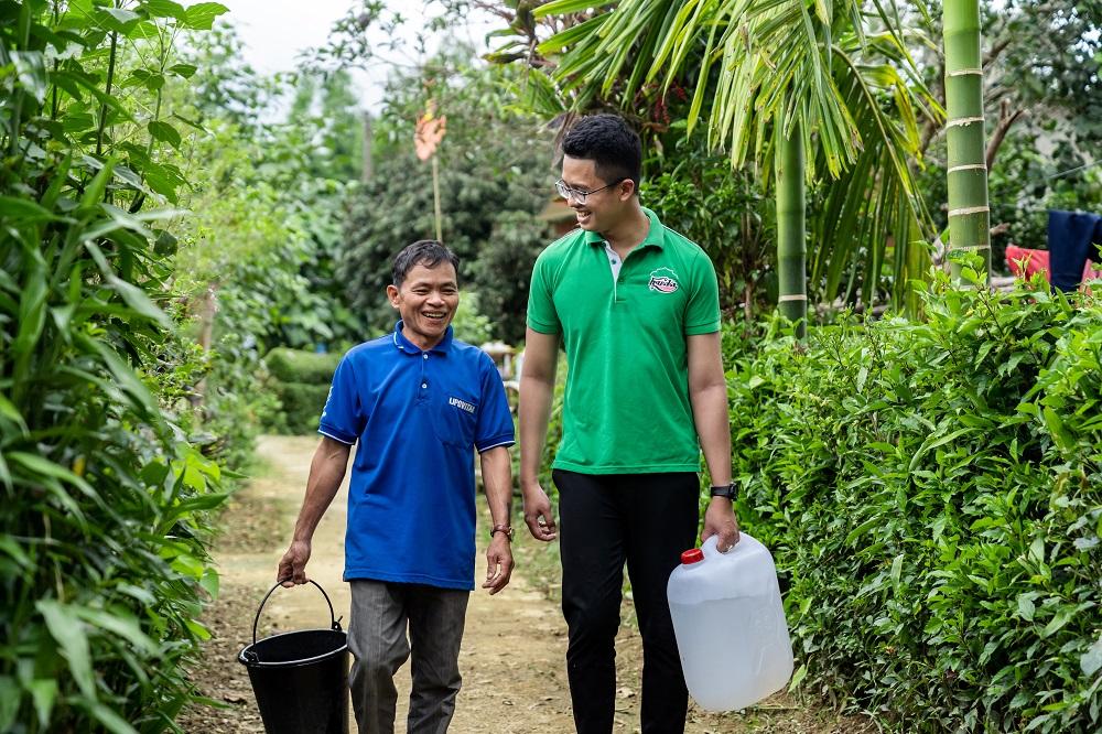 """Chương trình """"Khơi nguồn nước sạch vì miền Trung yêu thương"""" của bia Huda đã giúp hàng nghìn người dân tiếp cận với nguồn nước sạch."""