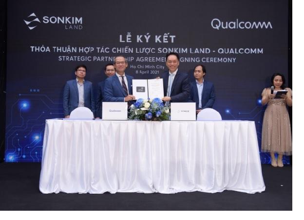 Doanh nghiệp địa ốc bắt tay Qualcomm để triển khai giải pháp thành phố thông minh IoT tại Việt Nam