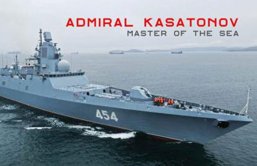 Đòn đánh tầm xa của MK45 khiến pháo hạm Nga lép vế?