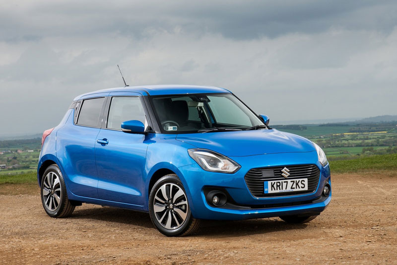 1. Suzuki Swift (doanh số: 3 chiếc).