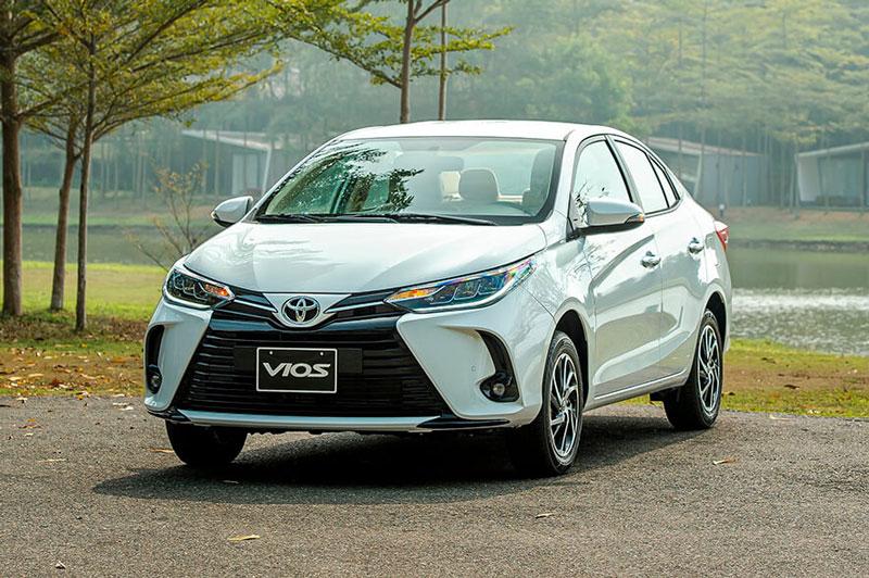 3. Toyota Vios (doanh số: 1.971 chiếc).