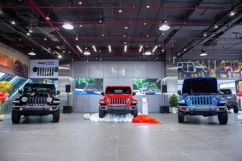Bảng giá xe Jeep tháng 4/2021
