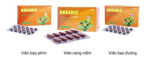 Boganic Premium – sở hữu công thức đa tầng giải độc, chống gốc tự do mạnh mẽ.