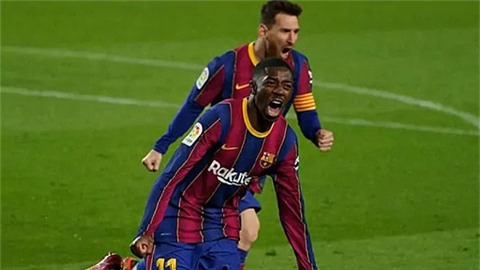 Dembele phủ nhận thông tin đàm phán gia hạn với Barca
