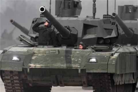 Mot dai doi T-14 se tieu diet ca lu doan tang NATO?