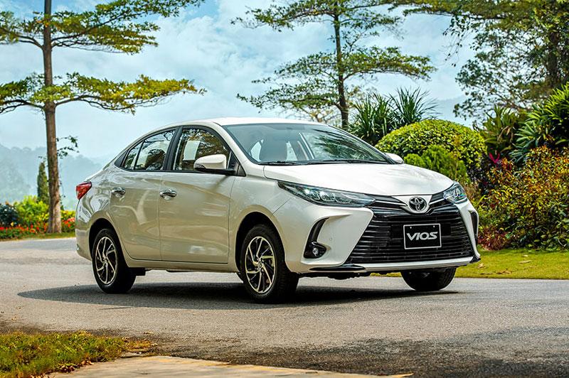 Vios là mẫu xe bán chạy nhất của Toyota Việt Nam.
