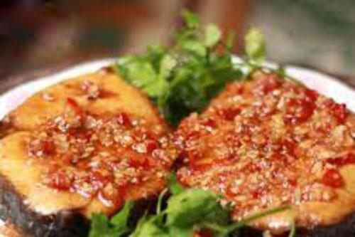 Cách làm cá thu rim tỏi ớt cực hấp dẫn