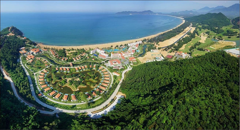 Khu kinh tế Chân Mây - Lăng Cô đang rất sôi động với nhiều dự án trọng điểm của tỉnh Thừa Thiên Huế.
