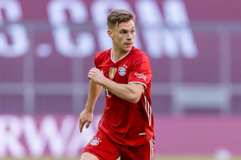 2. Joshua Kimmich (Bayern Munich).
