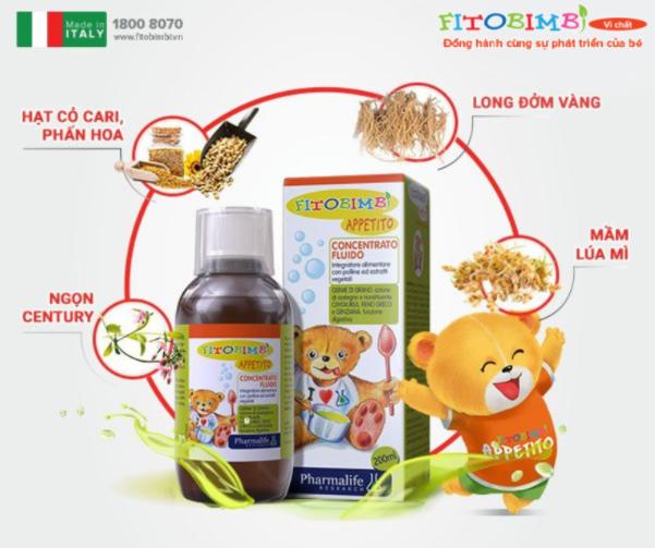 Sản phẩm được chiết xuất 100% từ thảo dược chuẩn hóa Italy.