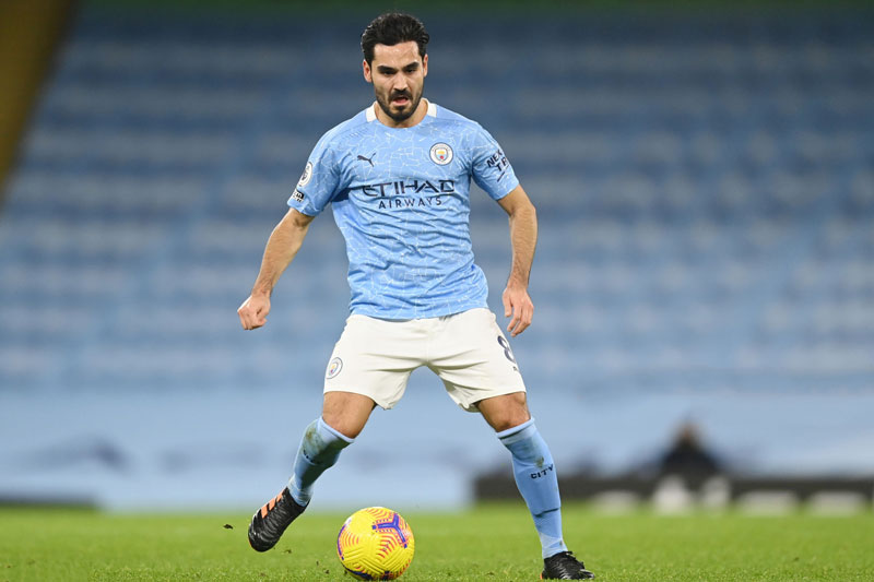 3. Ilkay Gundogan (Man City).
