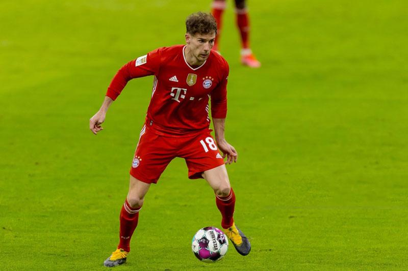 8. Leon Goretzka (Bayern Munich).