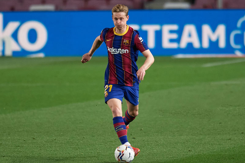 9. Frenkie de Jong (Barcelona).