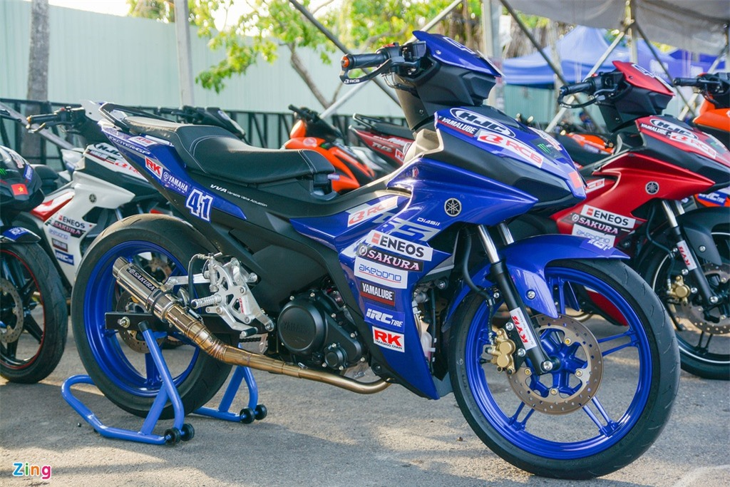 Can canh Yamaha Exciter 155 phien ban dua tai Viet Nam anh 1