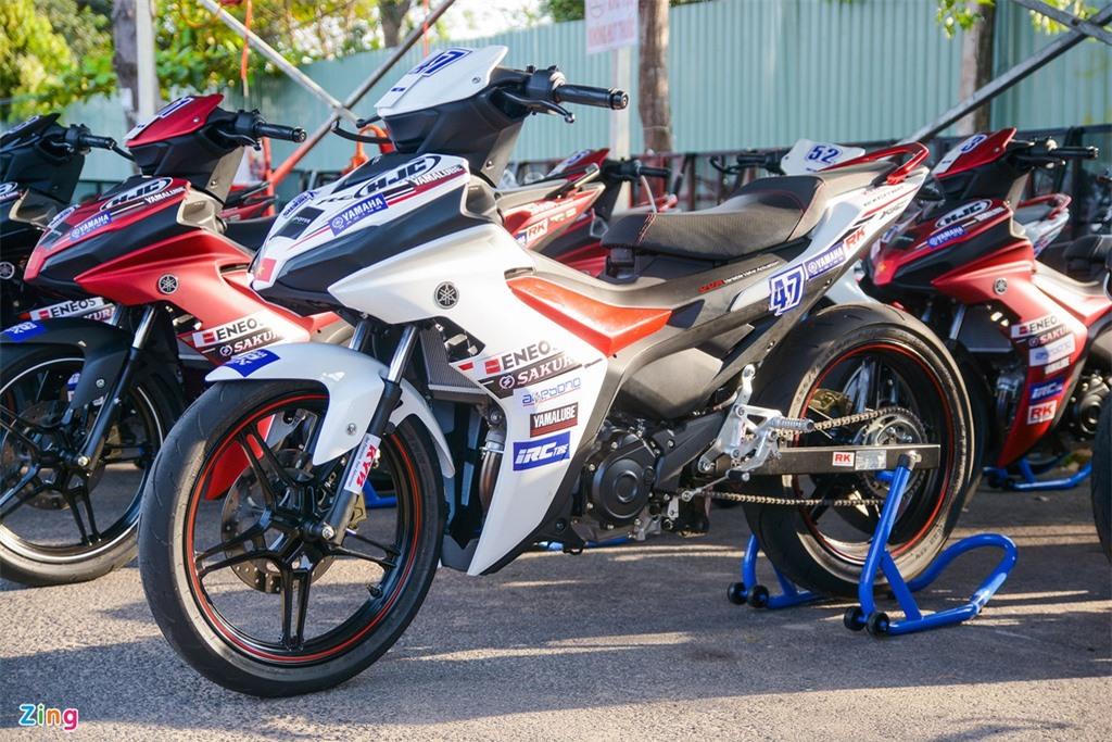 Can canh Yamaha Exciter 155 phien ban dua tai Viet Nam anh 2