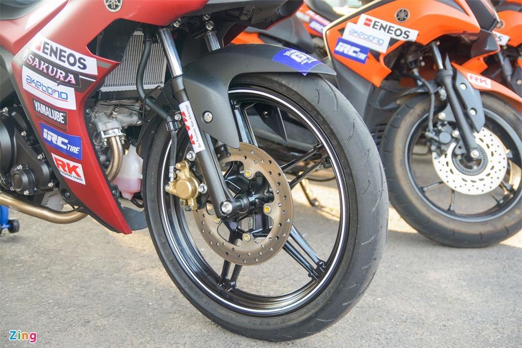 Can canh Yamaha Exciter 155 phien ban dua tai Viet Nam anh 6