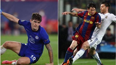 Pulisic cân bằng kỷ lục không mong muốn của Messi tại Champions League