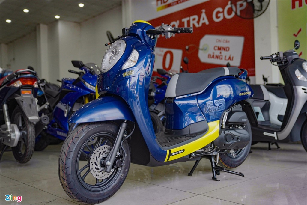 Honda Scoopy 2021 nhap khau Thai Lan gia 74 trieu dong anh 12